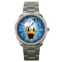 Sport Metal Unisex Watch Highest Quality Donald Duck - $23.99