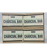 4 Pack! Keika Naturals Charcoal Bar, Soap for Troubled Skin, All Natural... - $29.69