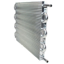 "3/8"" Universal Aluminum Transmission Oil Cooler 15-1/2"" x 10"" x 3/4"" image 5"