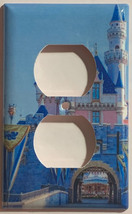 Sleeping beauty castle Light Switch Outlet Toggle wall Cover Plate Home Decor image 2
