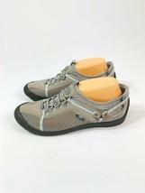 JBU Jambu Nepal Womens 9M Gray Blue Vegan Slip On Sport Trail Walking Shoes - $27.26