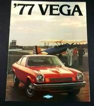 Chevrolet 1977 Vega Sales Brochure Original Sport Coupe Hatchback Wagon - $6.99