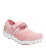NEW ALEGRIA PINK MARY JANE COMFORT SNEAKERS SIZE 38 SIZE 39 SIZE 7.5 8 9... - $49.99
