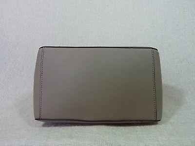 NWT Tory Burch French Gray Saffiano Leather Robinson Mini Square Tote image 6