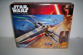 STAR WARS The Force Awakens White & Blue Resistance X-Wing Poe Dameron W... - $72.55