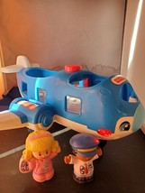 Fisher-Price Little People Travel Together Airplane Blue - $12.00