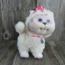 Kitty Cat White Persian Plush 1996 Mattel Cabbage Patch Kids Adopt N Luv Pet - $61.37