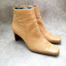 """White Mountain Womens Eros  Size 7 Brown  Leather 3"""" Heeled Ankle Boot B... - $19.99"""