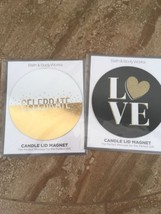 Bath And Body Works Candle Lid Magnet Lot Of 2 NEW - $6.50