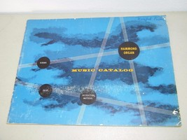 Vintage Hammond Organ Music Catalog 1950's 13433 - $7.24
