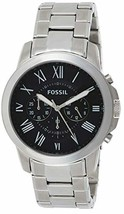 Fossil Men's Grant Stainless Steel Chronograph Quartz Watch - $99.72+