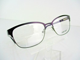 Nine West NW 1062 (515) Purple / Black 53 x 17 135 mm Eyeglass Frames - $58.87