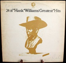 "MGM SE 4755-2 ""24 of Hank Williams Greatest Hits"" - 2 record set! - $7.87"