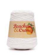 Peaches & Creme Cotton Yarn, 14 Oz. Cone, White - $18.95