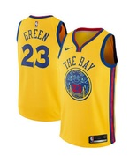 Draymond Green #23 Warriors Dub The Bay Jersey Custom Embroidered All Si... - $49.90