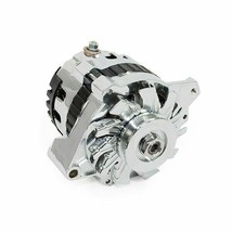 A-Team Performance GM CS130 Style 160 Amp Alternator with V-belt Pulley image 1