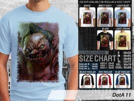T Shirt Pudge DotA2 Theme Many Color  - $9.99+