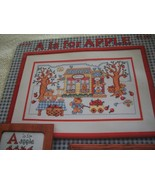 A is for Apple Cross Stitch Chart - $5.00