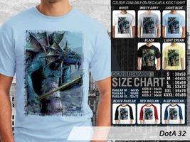 T Shirt Slardar DotA2 Theme Many Color  - $9.99+