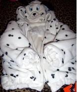 Girls Reversible Dalmatian Poodle Fleece Jacket SZ 18-24 Months NEW Hall... - $15.00