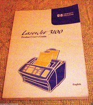 Hewlett Packard Laser Jet 3100 Product User's Guide Manual Part No C3948... - $2.96