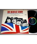BEATLES 2 LP SET - THE BEATLES' STORY Capitol TBO-2222 - $100.00