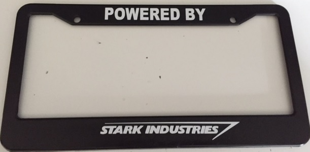 Powered by stark industries black