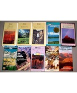 (10) U.S. NATIONAL PARK & TREASURES VHS VIDEO TAPE LOT - $29.95