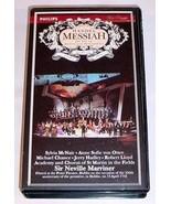 HANDEL MESSIAH VHS - NEVILLE MARRINER 250th Anniversary - $30.00