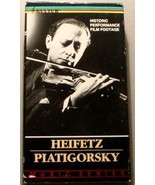 HEIFETZ & PIATIGORSKY - VIOLIN Historic Performances - $25.00