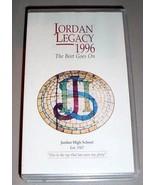 JORDAN HIGH SCHOOL VHS VIDEO LEGACY 1996 - Sandy, Utah - $34.95