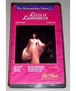LUCIA DI LAMMERMOOR VHS VIDEO - Joan Sutherland - $24.95