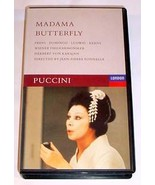 PUCCINI MADAMA BUTTERFLY VHS - Freni / Domingo / Ludwig - $30.00