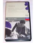 PUCCINI TOSCA VHS - Kabaivanska / Domingo / Milnes - $30.00