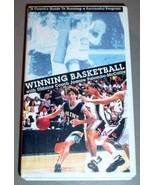 WINNING BASKETBALL VHS - UMO Joanne Palombo-McCallie - $30.00