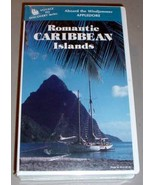ROMANTIC CARIBBEAN ISLANDS VHS VIDEO - Maine Windjammer - $24.95