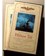 ROSSINI'S WILLIAM TELL 2 VHS VIDEO SET - $34.95