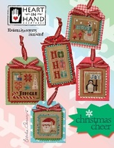 Christmas Cheer cross stitch chart Heart in Hand - $12.60