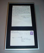 1943 WWII LETTER Captured Prisoner U.S. Soldier Sgt. R.J. Turner, Doroth... - $39.75