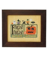 Halloween Double Up chart series cross stitch chart Heart In Hand  - $7.65