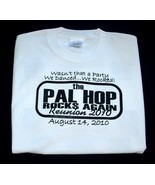 T-SHIRT - PAL HOP Rocks Again Reunion! Free Shipping! - $18.95