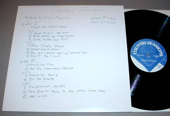 ELVIS PRESLEY - COUNTRY SESSIONS NBC RADIO SHOW LP #126