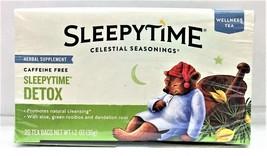 Celestial Seasonings Sleepytime Detox Wellness Tea 20 Tea Bags - $10.34