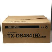 Onkyo TX-DS484 Black AV Receiver Surround Sound Ampli - Tuner Audio - V... - $350.61