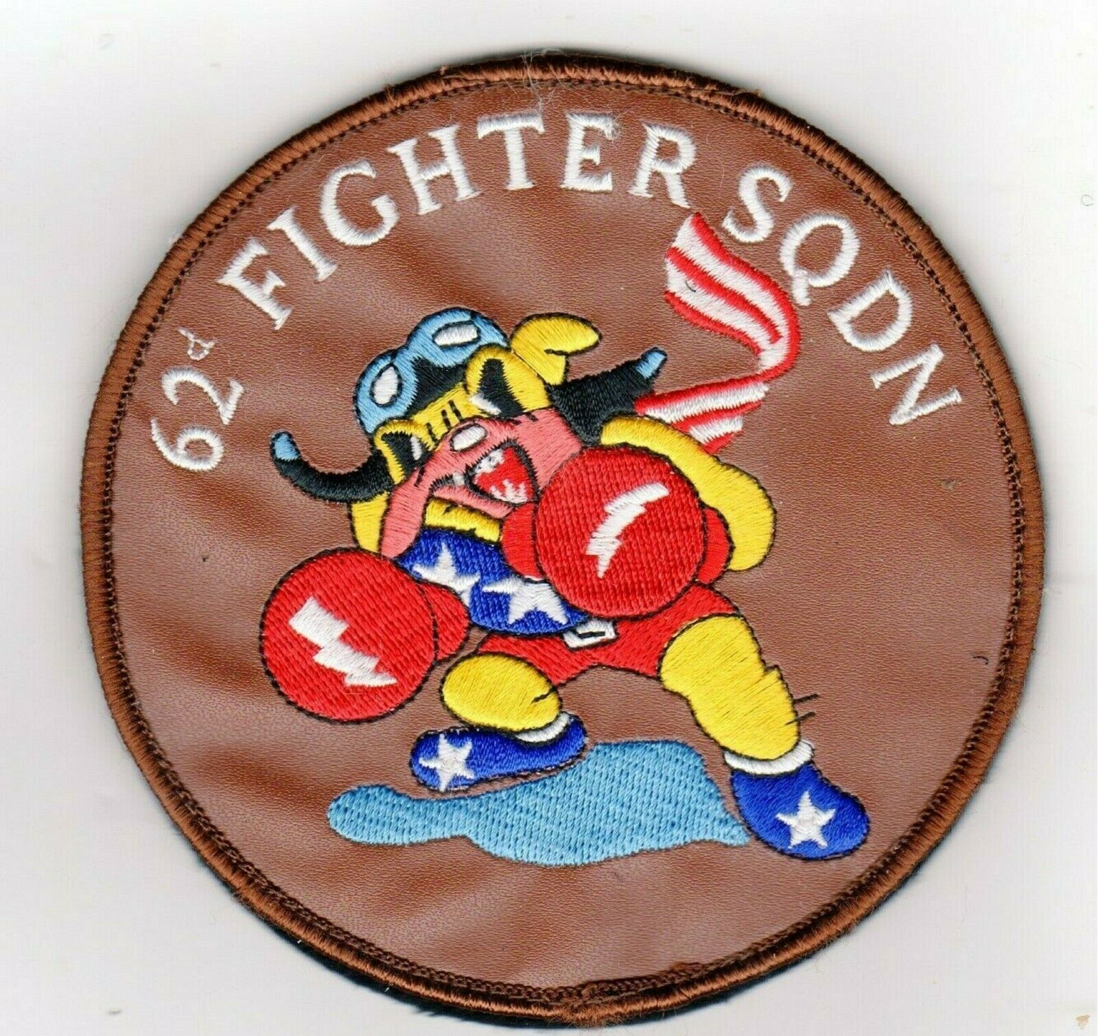Primary image for USAF PATCH AIR FORCE 62 FIGHTER SQ PATCH STICKER