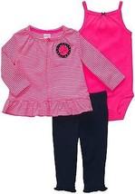 Carter's Baby Girl 3 - Piece Cardigan Set - 18 Months - $15.99