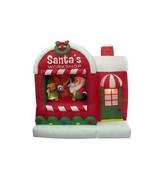 Christmas Inflatable Santa Claus Holiday Lawn Yard Workshop Design Self ... - $183.82