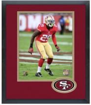 Jaquiski Tartt 2015 San Francisco 49ers - 11 x 14 Team Logo Matted/Frame... - $43.55