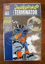 Deathstroke, the Terminator #6 (Jan 1992, DC) Comic (VF/NM) Vintage-Book... - $9.50