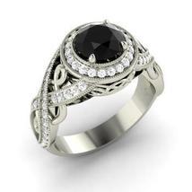 Black Diamond Engagement Ring - $229.00
